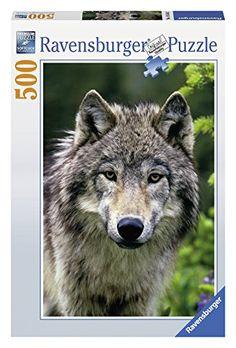 500 Piece Wolf Portrait Puzzle