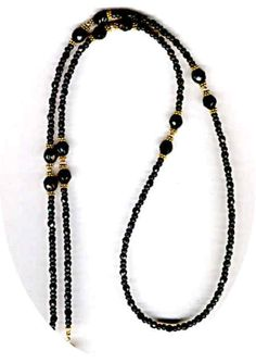 Beaded Eyeglass Chains, Beaded Eyeglass Holders/Leashes and Beaded ID Badge Lanyards by Bead Wizardry Designs Glass Necklace, Diy Necklace, Beaded Jewelry, Gold Jewelry, Jewelry Necklaces, Swarovski Pendant, Trendy Accessories, Stone Bracelet, Eyeglasses