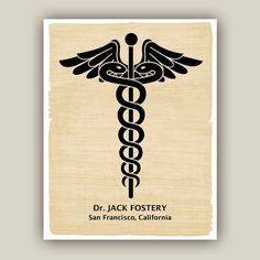 PERSONALIZED doctor print medical art gift for by DigiMarthe, $25.00