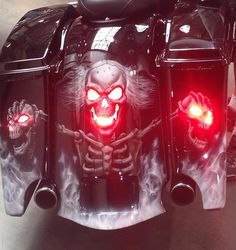 20 Mind Blowing Custom Painted Motorcycles