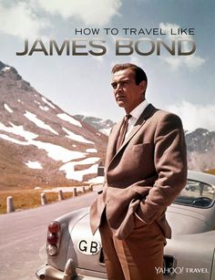 """Photo byDonaldson Collection/Michael Ochs Archives/Getty Images. Design by Erik Mace for Yahoo Travel. We all know about James Bond's license to kill, but what's really impressive is his frequent-flyer account. Over five decades and 24 films (the latest of which, """"Spectre,"""" opens in the U.S. on November"""
