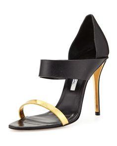 River Open-Toe Double Banded Sandal by Oscar de la Renta at Neiman Marcus.