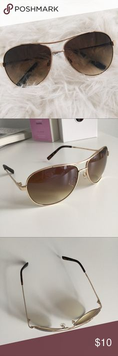 fc31440680d Jessica Simpson Aviator Sunglasses Cute summer shades that will go perfect  with any outfit! Brand new! Comes from a smoke and pet free home.