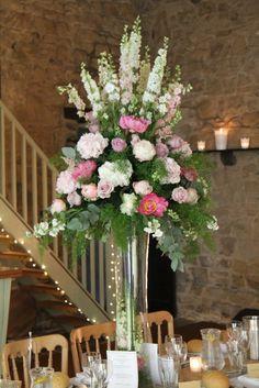 Flower Design Events: Summer Peonies & Pink Loveliness For Sarah & Robert's Wedding at St Peter's Church Scorton & Bay Horse Inn at Forton