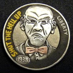 The Engraver's Cafe - The World's Largest Hand Engraving Community - Latest project Hobo Nickel, Coin Art, Metal Clay Jewelry, Antique Coins, Coin Collecting, Hand Engraving, Silver Coins, Leather Craft, Metal Art