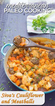 Easy Paleo Meatball Recipe | https://www.grassfedgirl.com/easy-paleo-meatball-recipe/