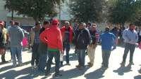 En Torreón los cinqueros llevan a cabo plantón