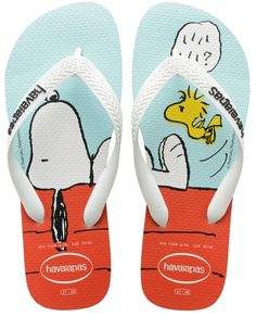 Shop men's sandals at Havaianas. Shop several cool sandals for men including espadrilles and flip flops. Shipped free at Havaianas. Snoopy Love, Charlie Brown And Snoopy, Snoopy And Woodstock, Peanuts Gang, Joe Cool, Womens Flip Flops, Flip Flop Sandals, Baby Shoes, Footwear