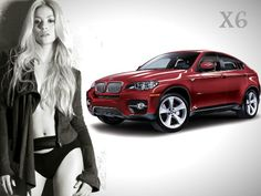 Latino pop singer Shakira known for her scintillating voice and peppy dance owns a BMW X6 premium SUV. The South American star famous for belly dances prefers the X6 as it offers the best in comfort, space and driving pleasure.