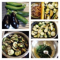 CO MI W DUSZY GRA: MAKARON Z CUKINIĄ I BAKŁAŻANAMI Gra, Pickles, Cucumber, Zucchini, Vegetables, Food, Essen, Vegetable Recipes, Meals