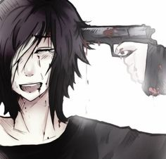 RP: ~looks up takes the gun~ I don't know what else to do... ~puts my finger on the trigger~