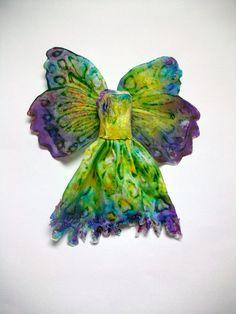 Tiny fairy dress