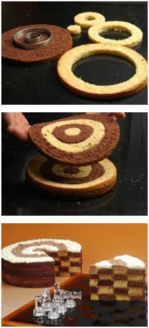 How to make chess cake