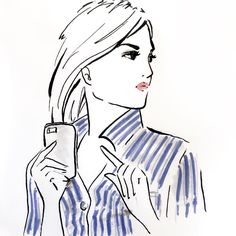 And another one of the Lady in the Blue striped Shirt - this Time without glasses! #fashionillustration #fashionillustrator #fashionillustrations #illustration #illustrationoftheday #illustrationart #art #artwork #sketch #drawing #draw #drawingoftheday #illustrationoftheday #instaart #fashionsketch #fashionart #fashiondrawing #arts_help #artlovers #artlover #copicmarkers #copics #copicsketch #fashion #pretty #beautiful
