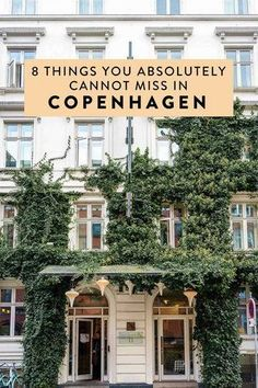 Heading to Copenhagen and wondering what to do? Here are 8 things you can't miss! #copenhagen #denmark #europe #scandinavia #traveltips #tripideas #itinerary #travel