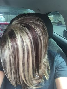 Blonde with Chocolate lowlights