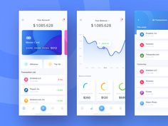e-chain wallet app card dashboard currency mining payment crypto money stats ios wallet Web Design, Website Design Layout, App Ui Design, Flat Design, Mobile App Design, Dashboard Mobile, Crypto Money, Creative Shot, Best Wallet