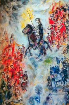 Don Quijote, de Marc Chagall (1975).