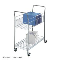 Safco 7754 Economy Mail Cart