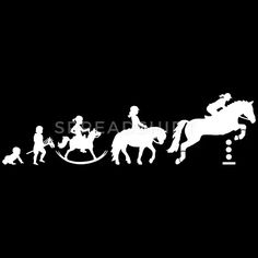 Evolution Girls Showjumping - Farbwechsel Frauen Premium T-Shirt | Spreadshirt Horse Riding Quotes, Horse Quotes, Evolution, Equine Quotes, Funny Horse Pictures, T Shirt Pink, Horse Gear, Horse Drawings, Horse Stables