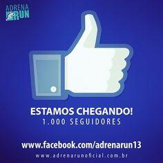 Estamos chegando a 1.000 seguidores!!! Curtam nossa página no #facebook e fiquem ligados no Circuito Adrena Run 2014.   #adrenarun #Caraguat...