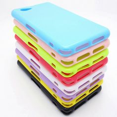 silicone soft gel tpu cover case for sony xperia z1 compact case Free Shipping
