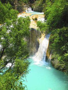 Chiflon Waterfall, Chiapas Mexico!