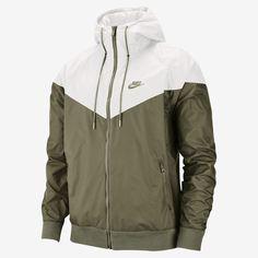 Nike Windrunner, Windrunner Jacket, Nike Sportswear, Nike Outfits, Chevron, Nike Hoodie, Nike Jacket, Nike Clothes Mens, Football Jackets