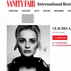 VANITY FAIR - Portrait of the Beautiful  Claudia by Caroline and Irek
