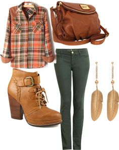 """plaidd"" by blaireandrews on Polyvore"