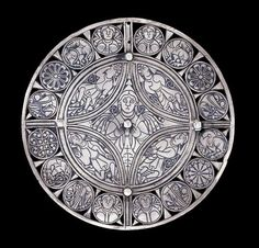 The Fuller Brooch  Anglo-Saxon, 9th century  The British Museum http://www.thesterlingsilver.com/product/engraved-cufflinks-with-monogram-initials-custom-made-with-any-initials/