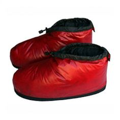 Western Mountaineering Flash Booties, Cranberry