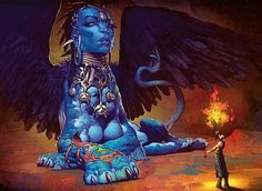 A sphinx is a mythical creature with a lion's body and a human head. #Mythology, #Egypt