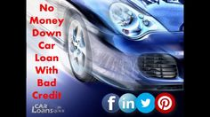 bad credit car loans with no money down