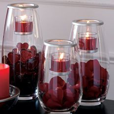 Clearly Creative holders can be used for anything your imagination can find!  www.partylite.biz/geminicandles
