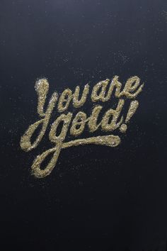 "In this article we have collected some of the best inspiration in terms of golden hand-lettering and typography. Great quality art by talented creatives and artists all over the globe. Lettering and typography in few words Lettering is defined as ""t. Words Quotes, Wise Words, Me Quotes, Motivational Quotes, Inspirational Quotes, Monday Quotes, Daily Quotes, Josie Loves, Face Angles"