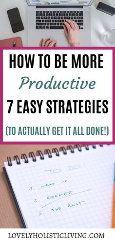 Need ways to be more productive in life? These productivity tips help me stay focused, feel motivated, and get lots of stuff done even when I want to procrastinate! Stay Focused, How To Stay Motivated, Time Management Strategies, Productive Things To Do, Organized Mom, Productivity Hacks, Busy Life, Ask For Help, Learning To Be