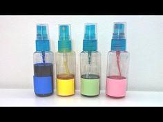 Tintas al alcohol. Cómo hacer tintas al alcohol para SUPERFICIES NO POROSAS. Alcohol inks - YouTube