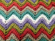 A propos du crochet Easy Ripple Afghan ...