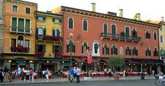 Piazza Bra in Verona Italy