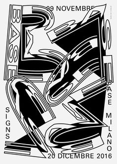 whokillsgraphicdesign: BASE milano limited edition poster submitted by michele galluzzo http://ift.tt/2iatjh2