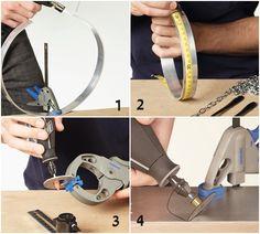 Cómo hacer una lámpara de techo con cubiertos para decorar tu cocina 2