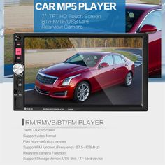 7080B Car Video Player 7 Inch with HD Touch Screen Bluetooth Stereo Radio Car MP3 MP4 MP5 Audio USB Auto Electronics
