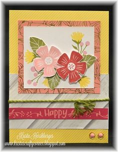 #ctmhhappytimes #cardmaking Congrats card, Cardkits available, close to my heart