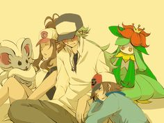 Relax After a Long Day by shinju-kun on DeviantArt N Pokemon, Pokemon Ships, Black Pokemon, Pokemon Fan Art, Cute Pokemon, Amazing Art, Geek Stuff, Deviantart, Black And White