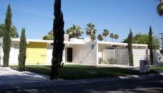 Muse for the Parr House in The Incredibles  I was researching Mid-Century Modern and I came across this builder in California. Apparently t...