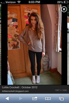 Fall outfit with white converse