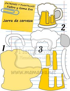Beer Birthday Party, Man Birthday, Birthday Party Decorations, Dice Template, Paper Box Template, Templates, Emoji Coloring Pages, Diy Keychain, Family Birthdays