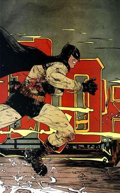"""""""Batman: Año 100"""" de Paul Pope"""