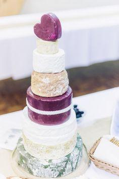 Wedding of the Week: Leasha Fry and Ben Ridgers-Steer | Cheese cake | weddingsite.co.uk